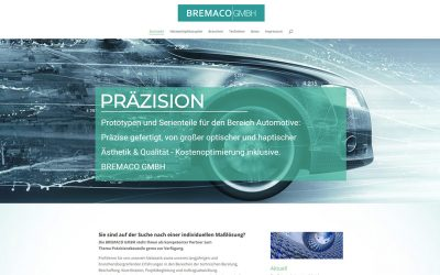Neue Website für BREMACO.DE